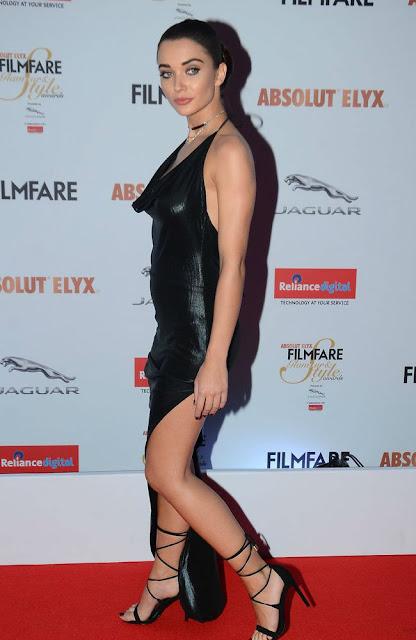 Amy jackson hot at filmfare glamour awards 2016 photos