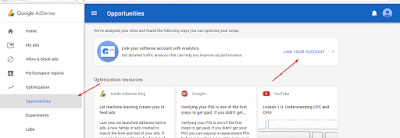 How to: Integrate your Adsense into your Analytics account