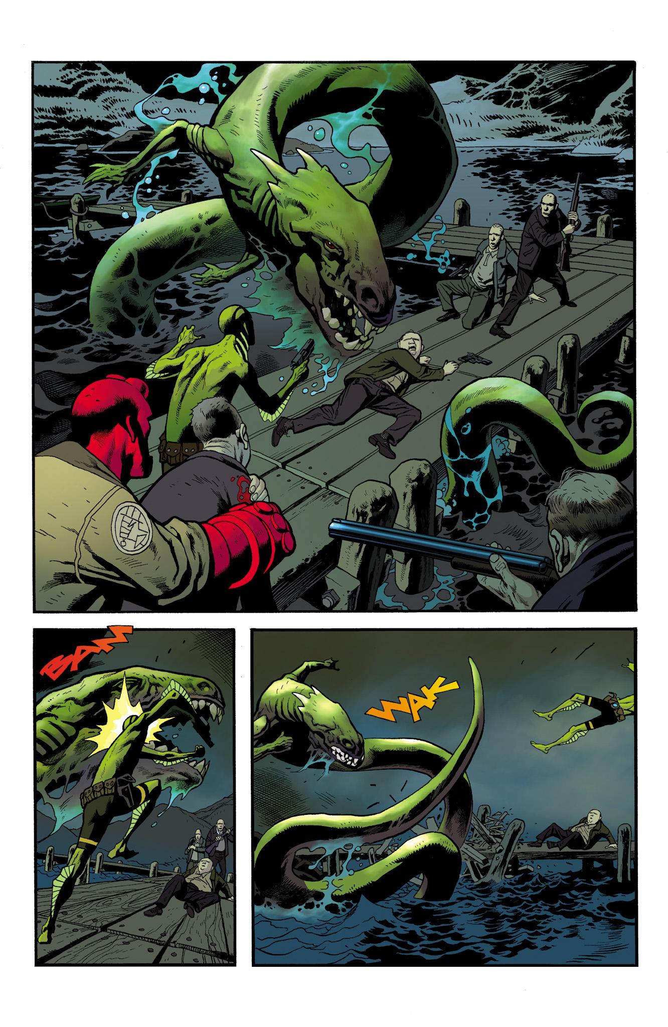 Read online Abe Sapien comic -  Issue #23 - 22