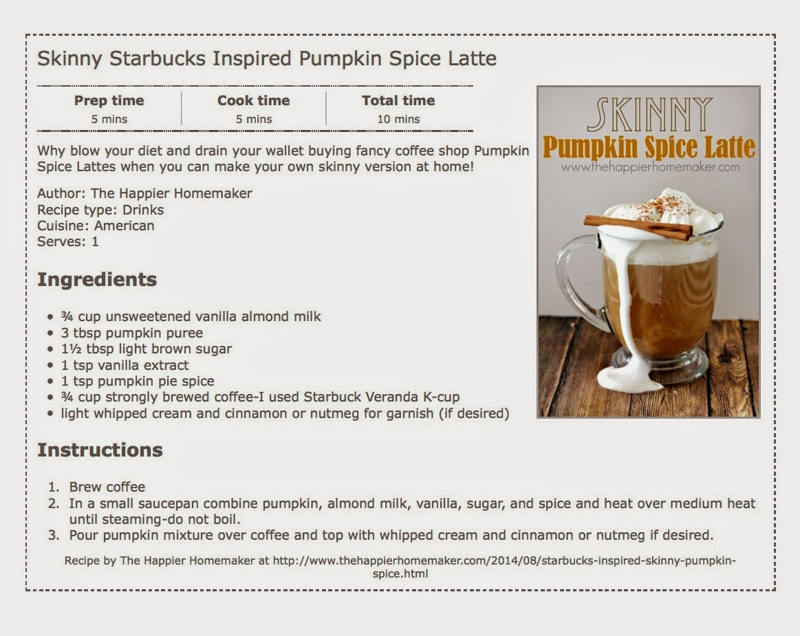 pumpkin spice latte food recipe