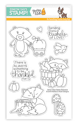 STAMPtember exclusive: Bushels of Love Stamp set by Newton's Nook Designs #newtonsnook