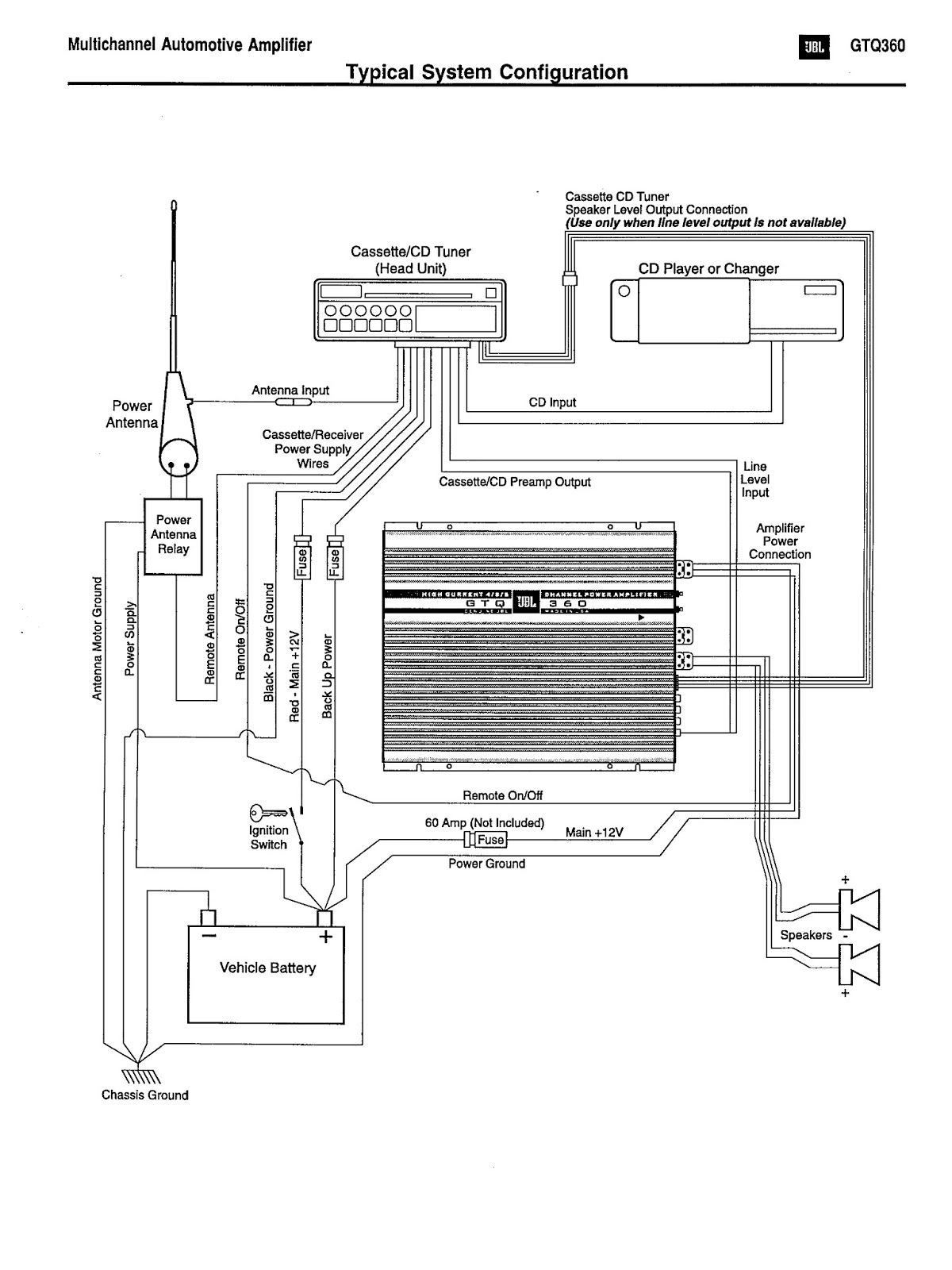 clarion amp wiring diagram amp free printable wiring diagrams