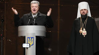 A council of Orthodox bishops has created a new Ukrainian church, marking an historic split from Russia which its leaders see as vital to the country's security and independence.