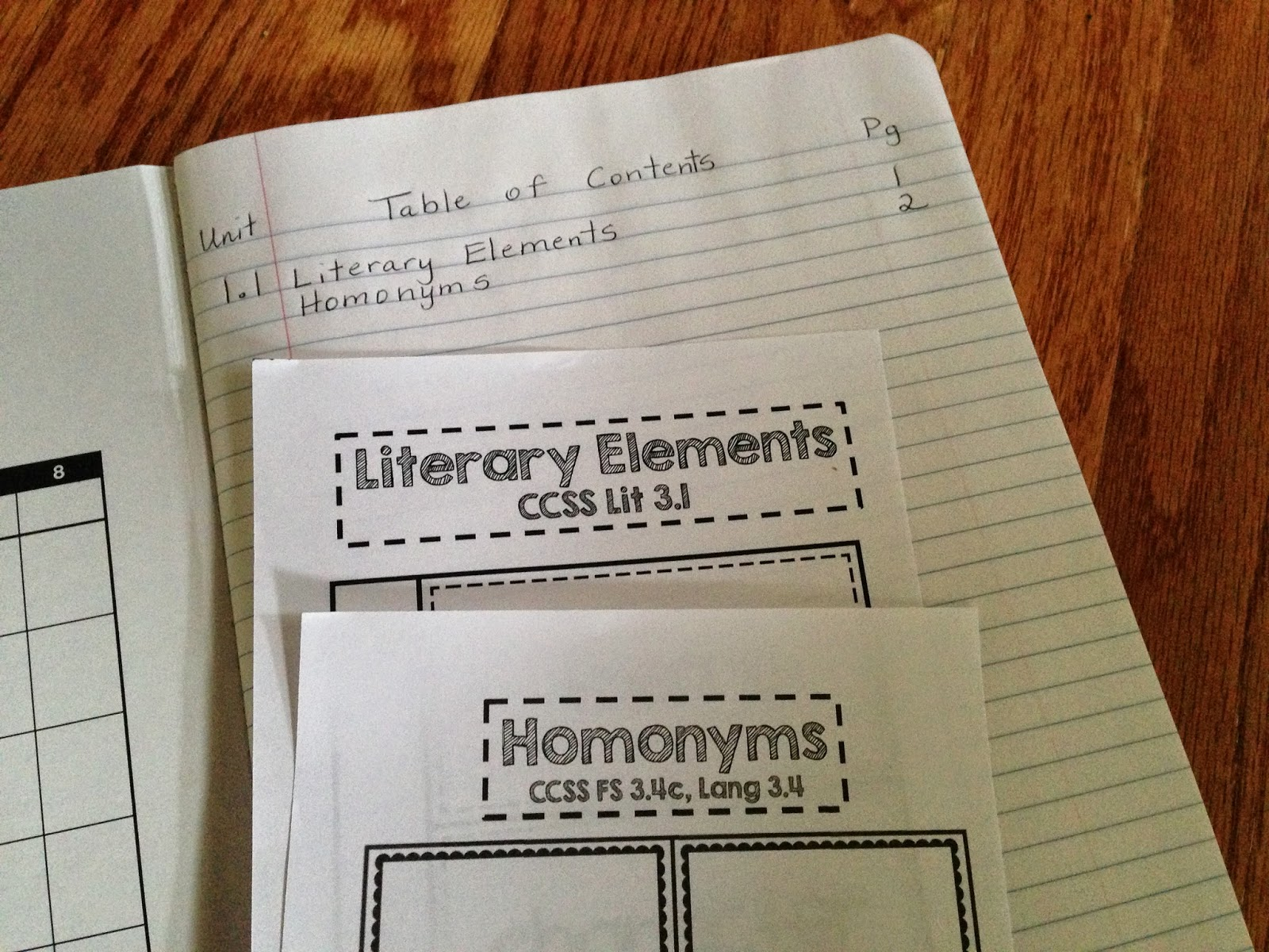 Reading Interactive Notebooks Supporting Reading Street