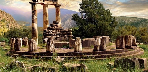 Tholos - A Temple to Athena