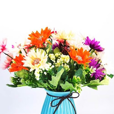 Bunga Plastik / Bunga Artificial Krisan (Seri PY5)