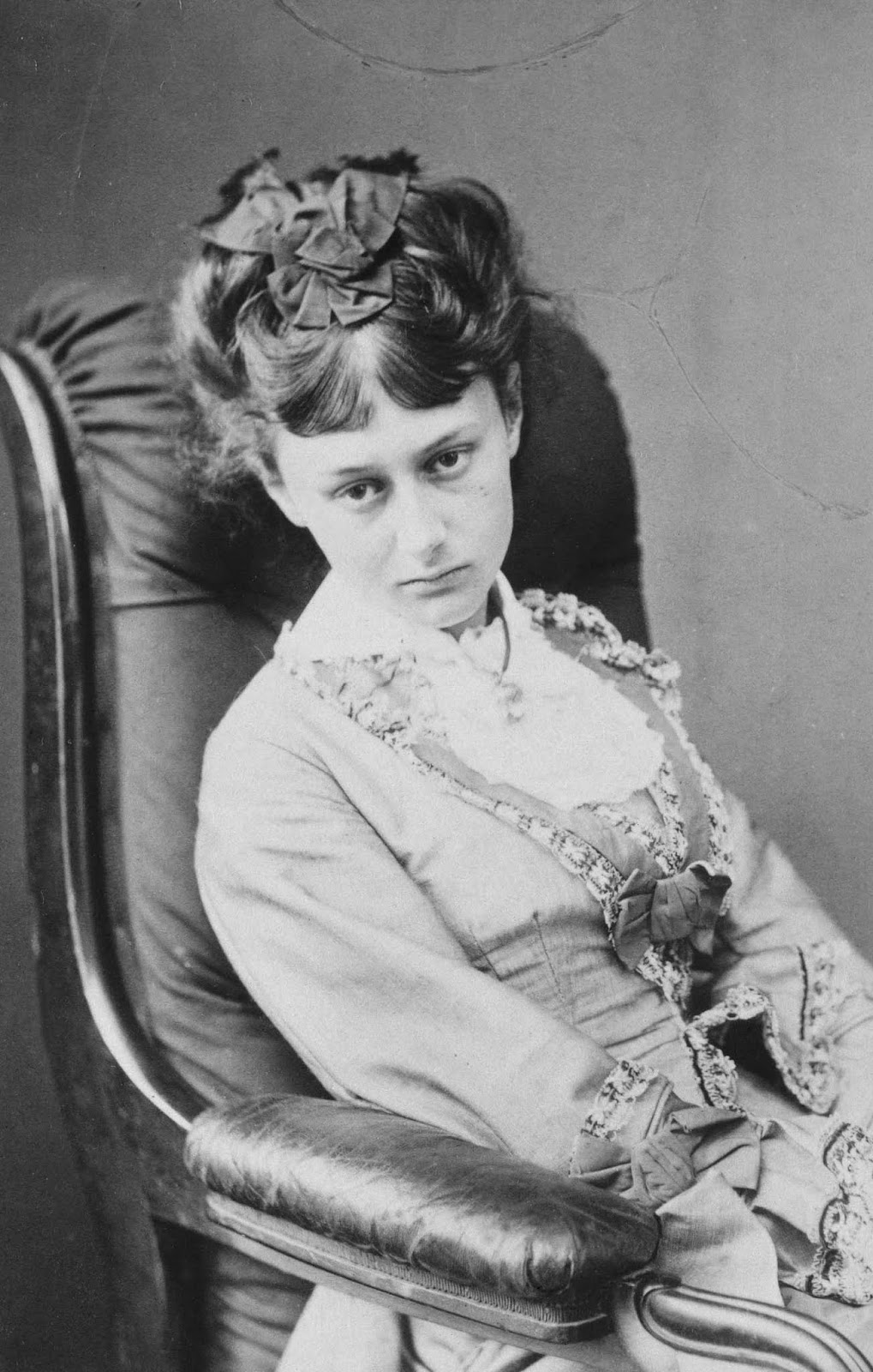 A 20-year-old Alice, 1872.