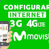 Movistar Perú: Configurar Internet 3G/4G LTE Android 2018