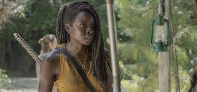 Saída de Michonne e volta de Maggie em The Walking Dead