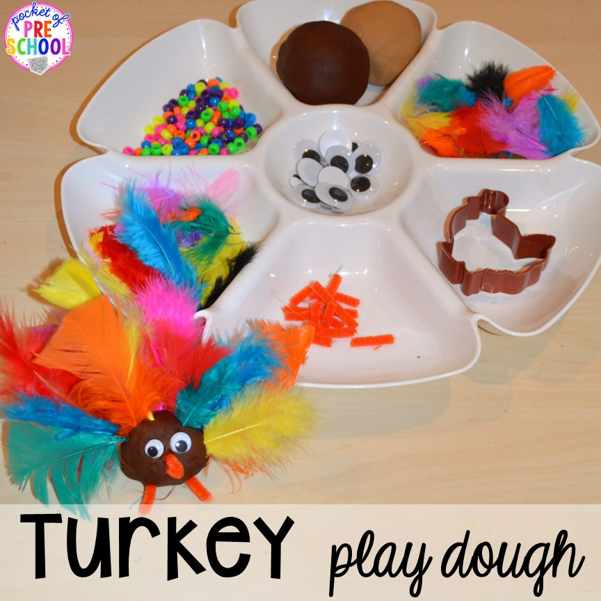 Thanksgiving Themed Activities and Centers for Preschool ...