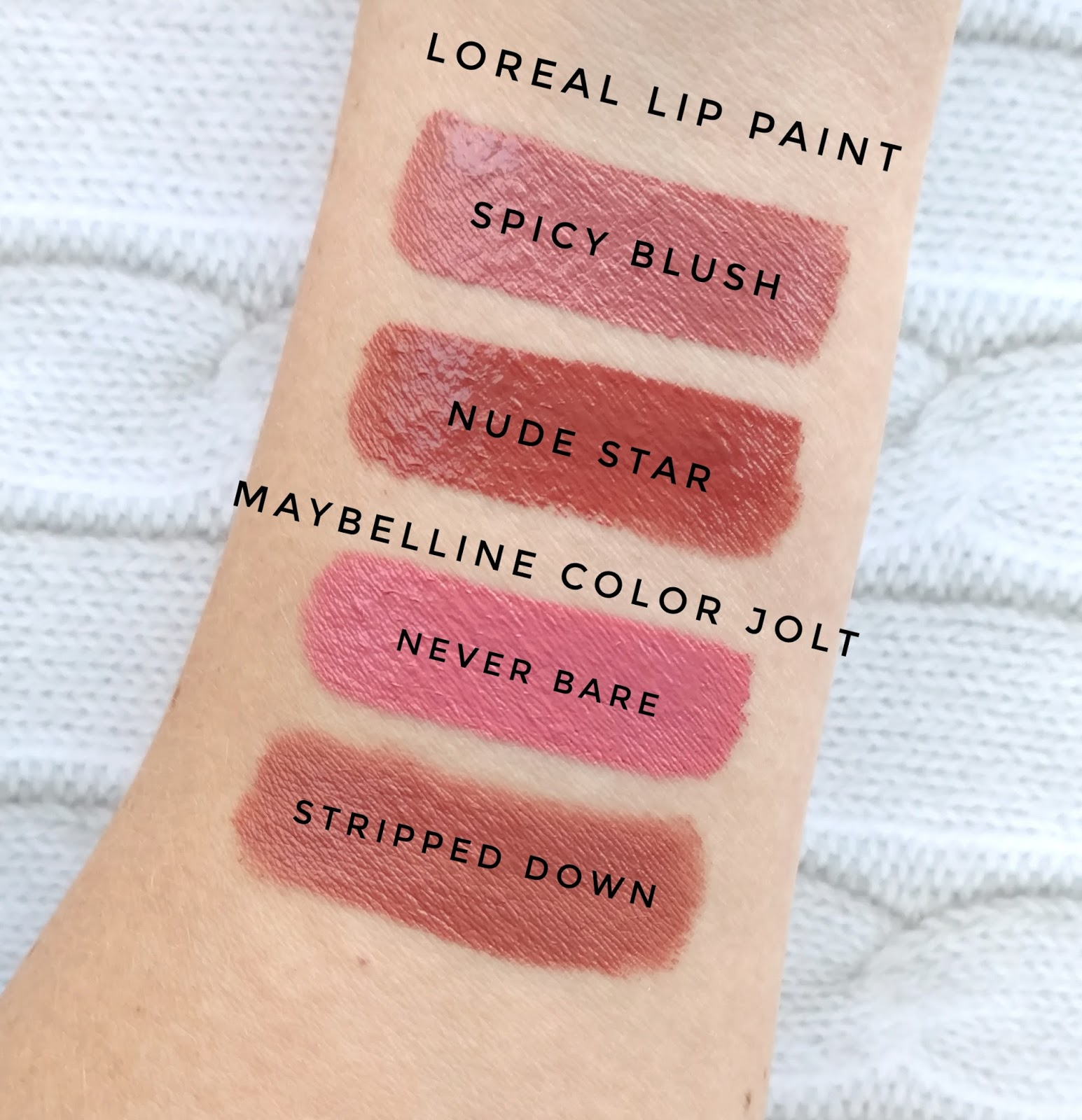 l 39 oreal infallible lip paints review swatches the