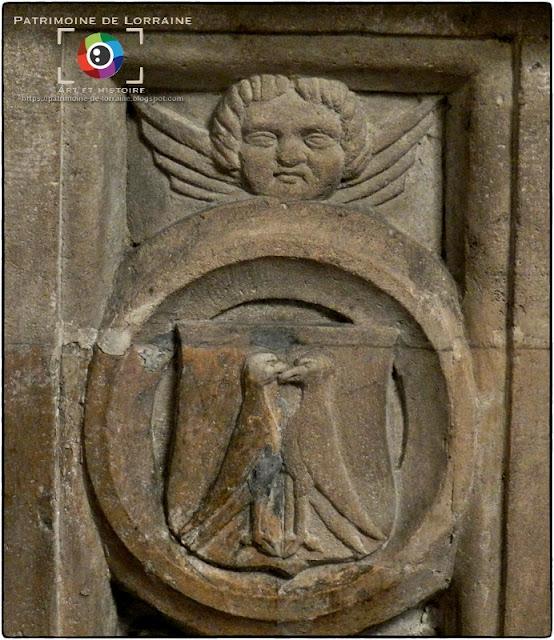 LIVERDUN (54) - Enfeu et gisant de Saint-Euchaire (XVIe siècle)