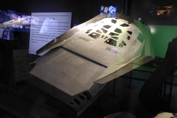 Interstellar spacecraft model