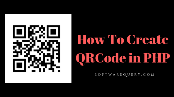 Generate QR Code in PHP