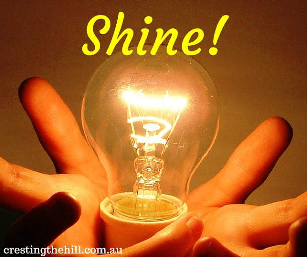 Don't suck the light and joy out of other people - choose to shine!