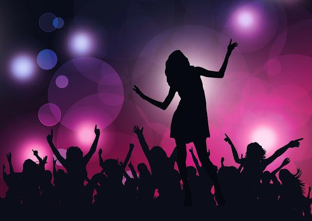 Este fim de semana... fui dançar!