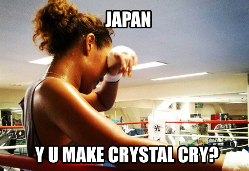 What is the obstacle preventing Crystal Kay from success? | randomjpop.blogspot.co.uk