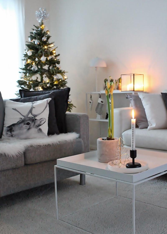 la dolce vita blogi valkoinen joulusisustus