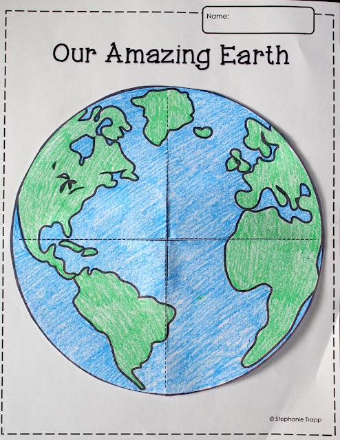 Atividade sobre o Meio Ambiente - Recorte, Colagem e Escrita
