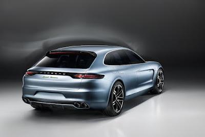 2017 Porsche Panamera rear look