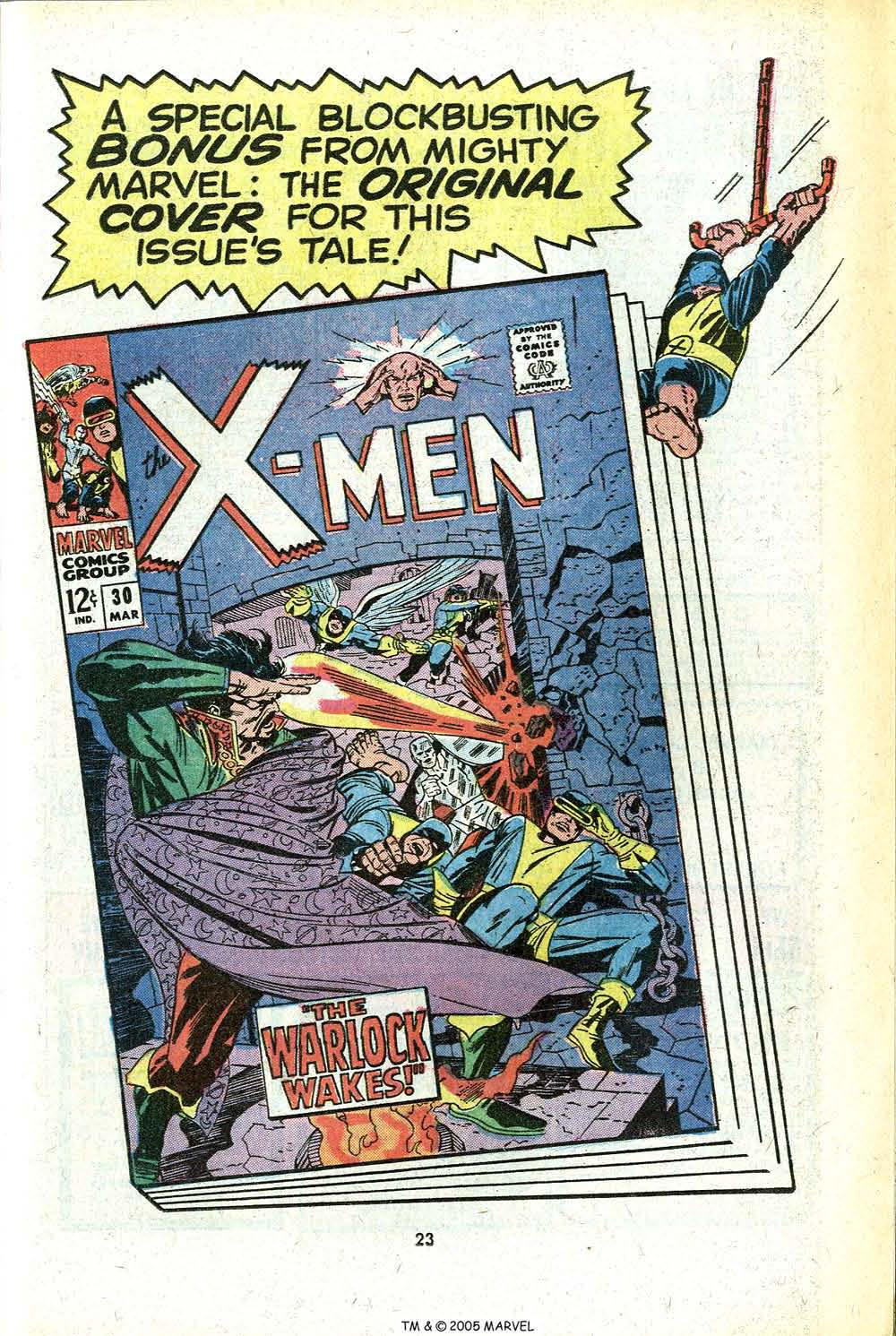 Read online Uncanny X-Men (1963) comic -  Issue #78 - 25