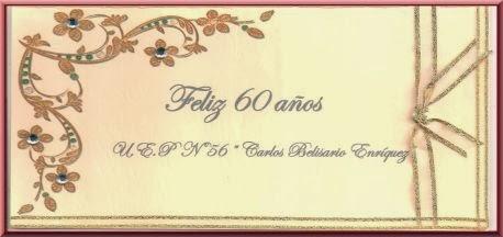 Tarjetas De 60 Años Imagui