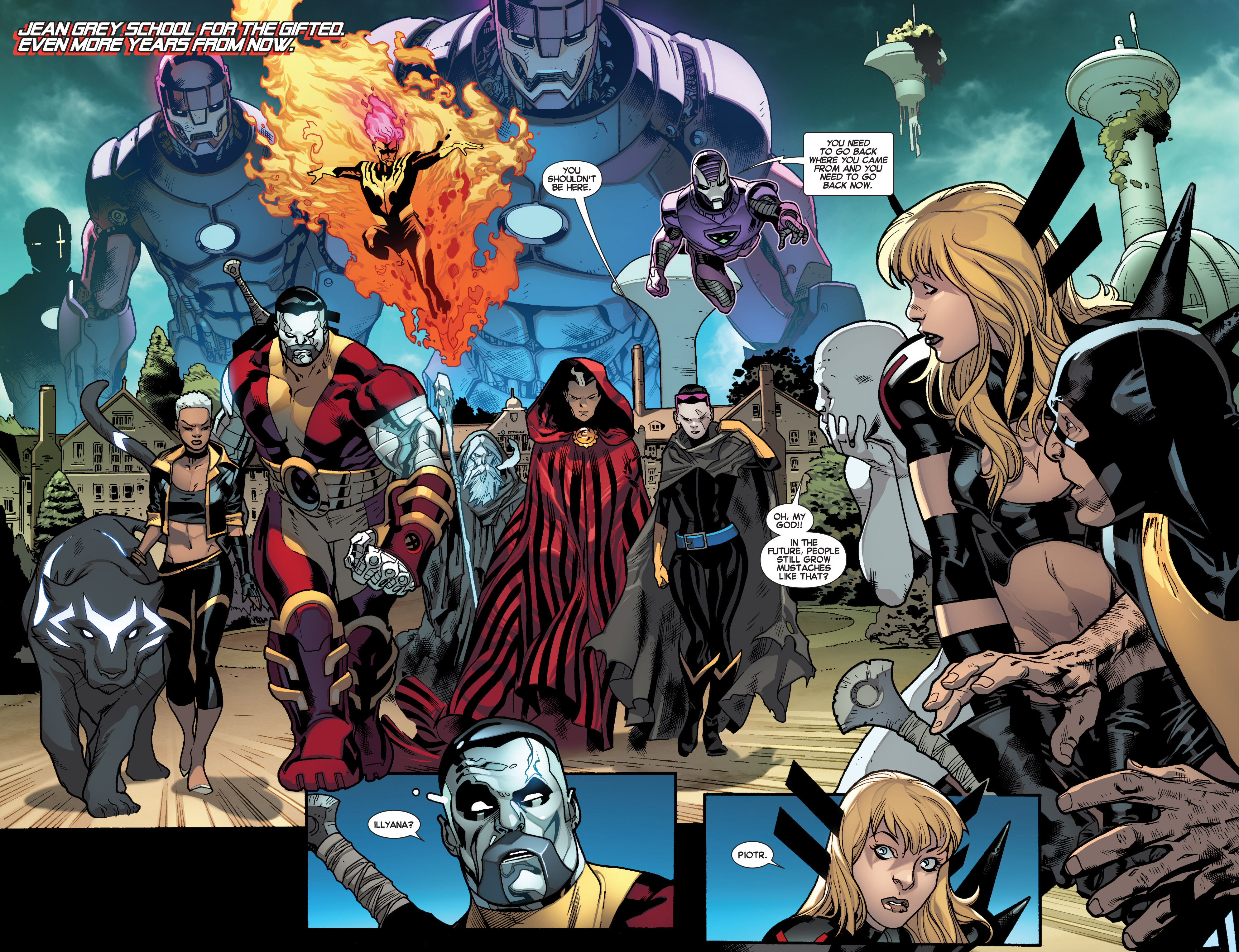 Read online All-New X-Men (2013) comic -  Issue #17 - 9