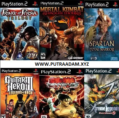 Download Game PS2 / PCSX2 ISO Android