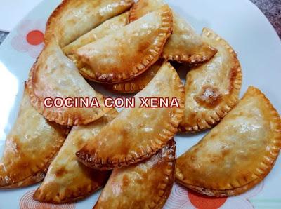 Empanadillas De Puerro Y Gambitas, Con Obleas La Cocinera