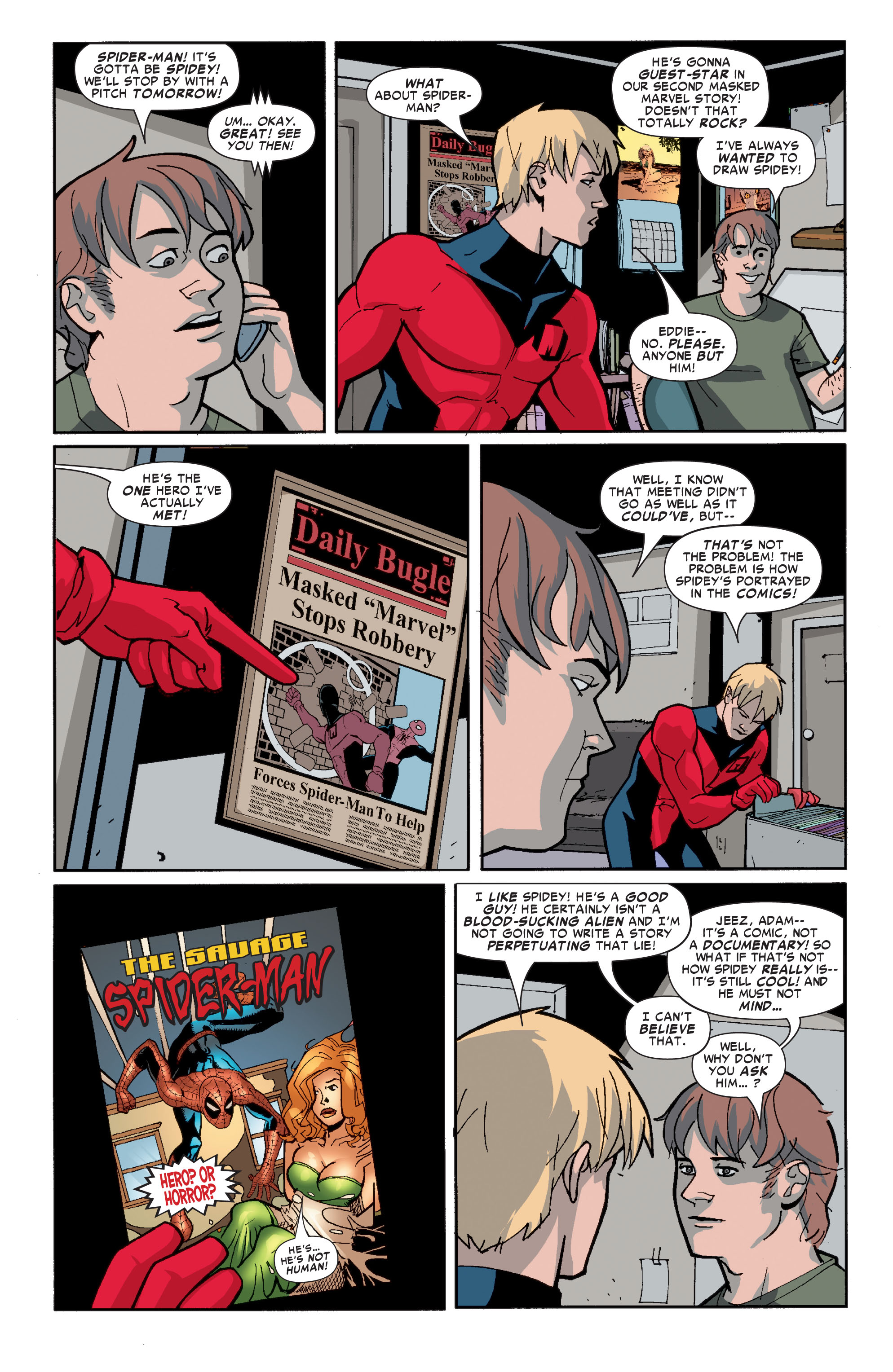 Read online Ultimate X-Men comic -  Issue #72 - 26