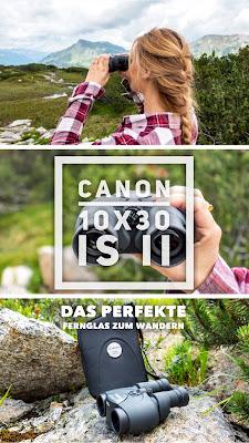 Gear of the Week #GOTW KW 36 | Canon 10x30 IS II | Fernglas mit 10facher Vergrößerung und Bildstabilisator
