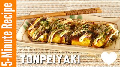 Tonpeiyaki (QUICK Okonomiyaki)