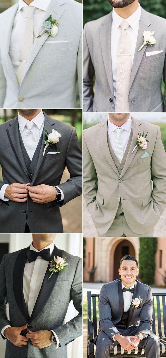 20 Trending Groom's Suit Ideas for 2019 Weddings