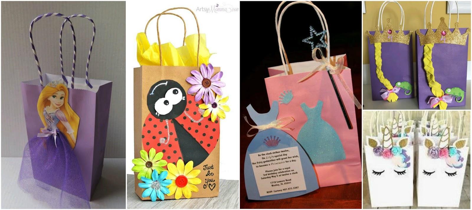 Lodijoella - Como decorar bolsas de papel ...