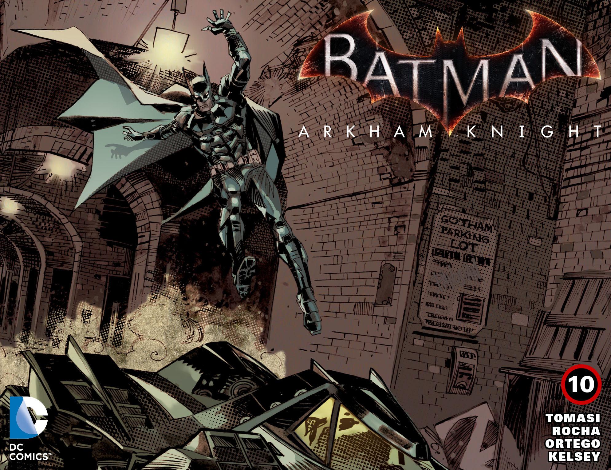 Batman: Arkham Knight [I] 10 Page 1