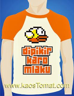 Kaos Flappy Bird