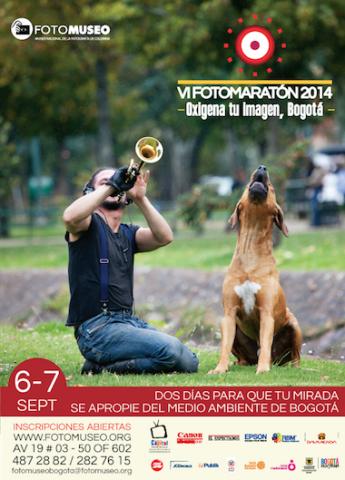 Afiche -- VI FOTOMARATÓN 2014