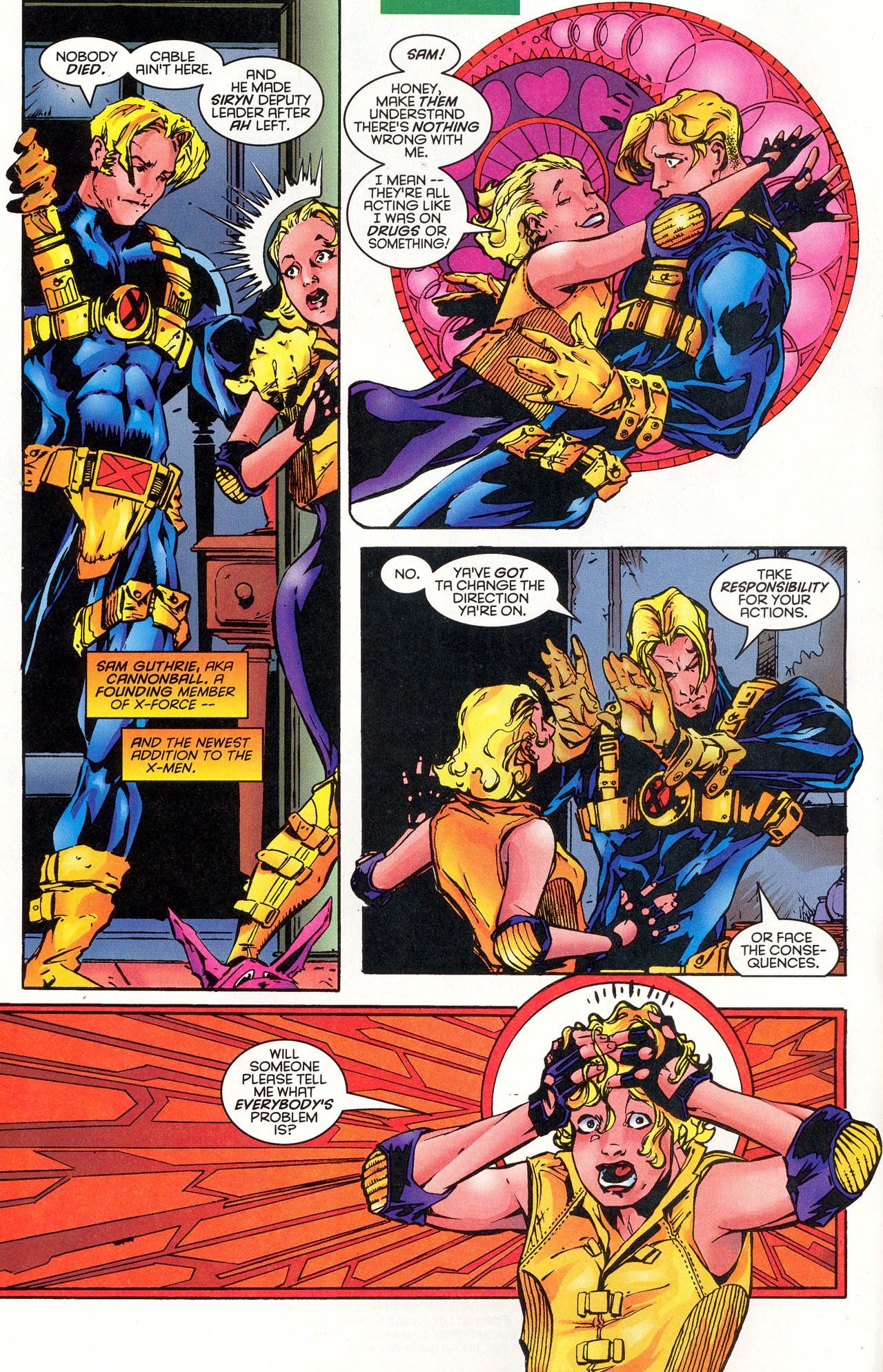 Read online X-Force (1991) comic -  Issue #48 - 7