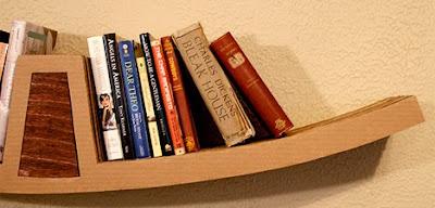 librero de cartón