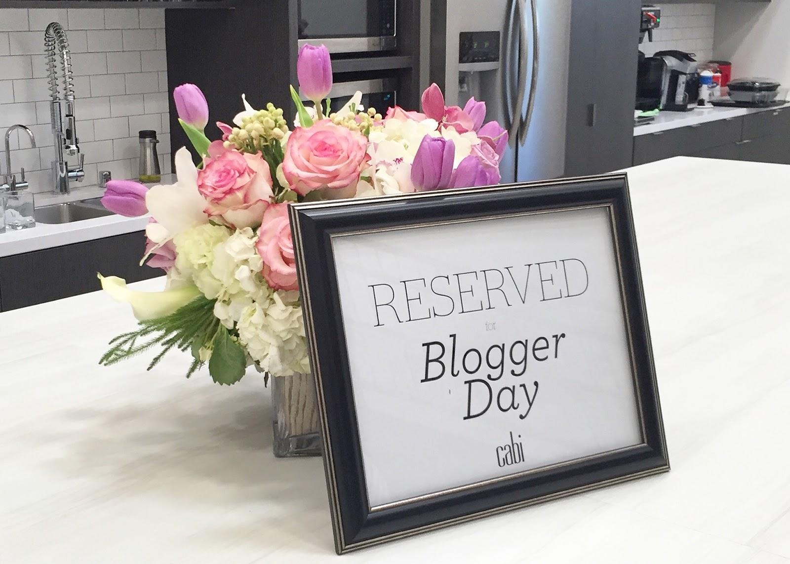 Cabi welcomes bloggers, Cabi blogger breakfast, Cabi carson california