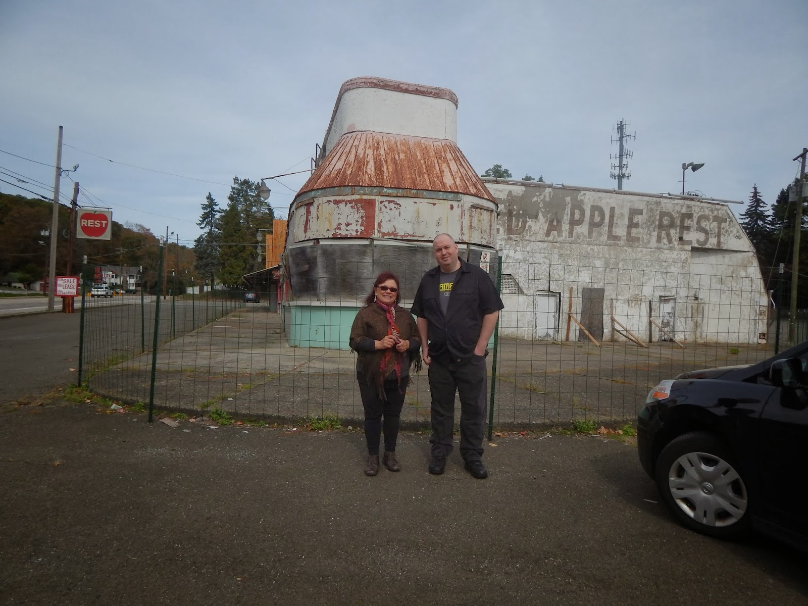 """""""The Charbor Chronicles"""": Remembering the Red Apple Rest ..."""
