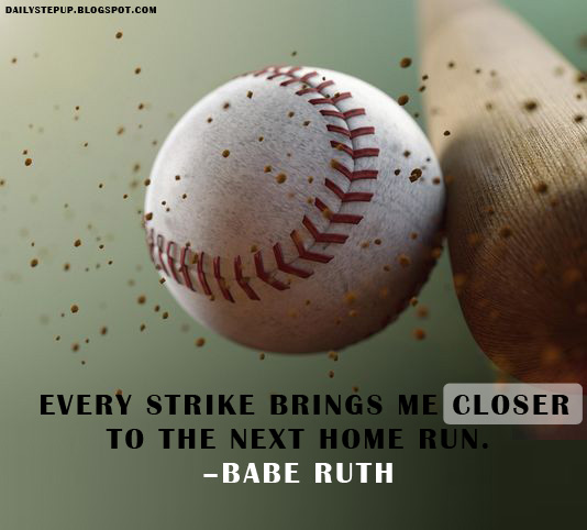 Babe Ruth Quotes Gorgeous Best Motivational Quotes For Students Babe Ruth Motivational Quote