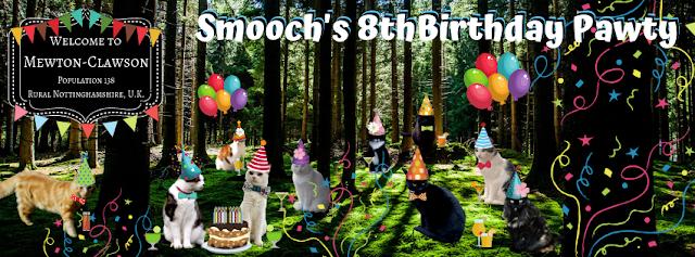 Smooch Birthday Mewton-Clawson Cats The B Team Pawty ©BionicBasil®