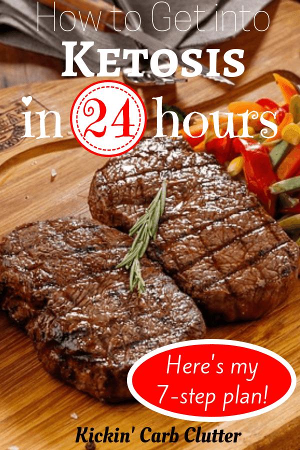Pinterest Image: 2 Broiled Steaks