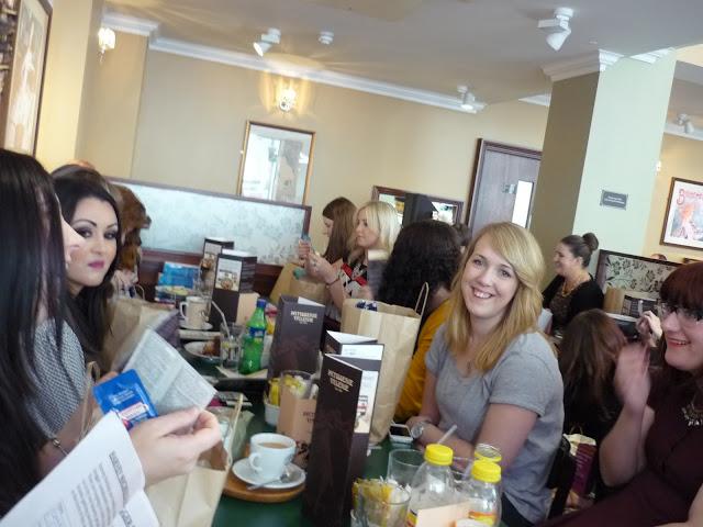 Leeds Blogger Meet Up Patisserie Valerie 2013