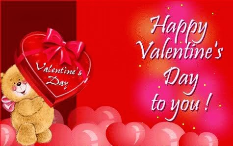 Frases De San Valentín: Valentine's Day Happy Valentine's Day To You