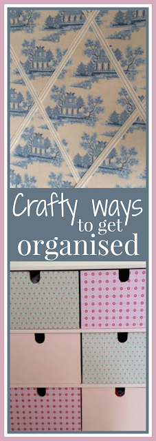 Crafty ways to get organised in the home