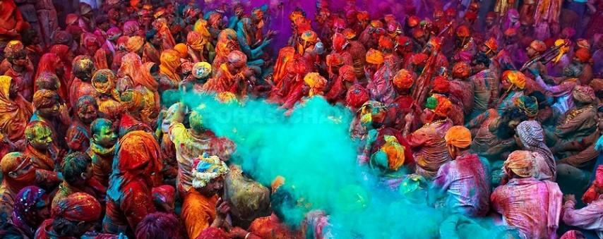 Qué Es El Holi La Fiesta De Los Colores De India