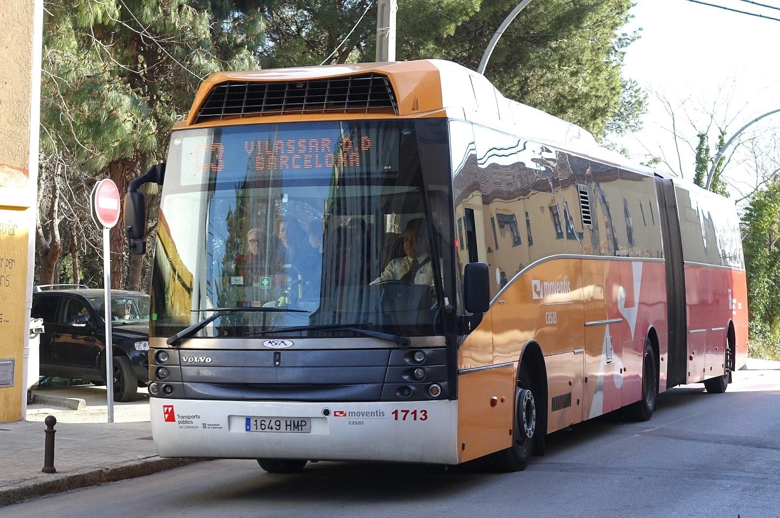 the traveler's drawer: empresa casas. bitllet d'autobús vilassar de