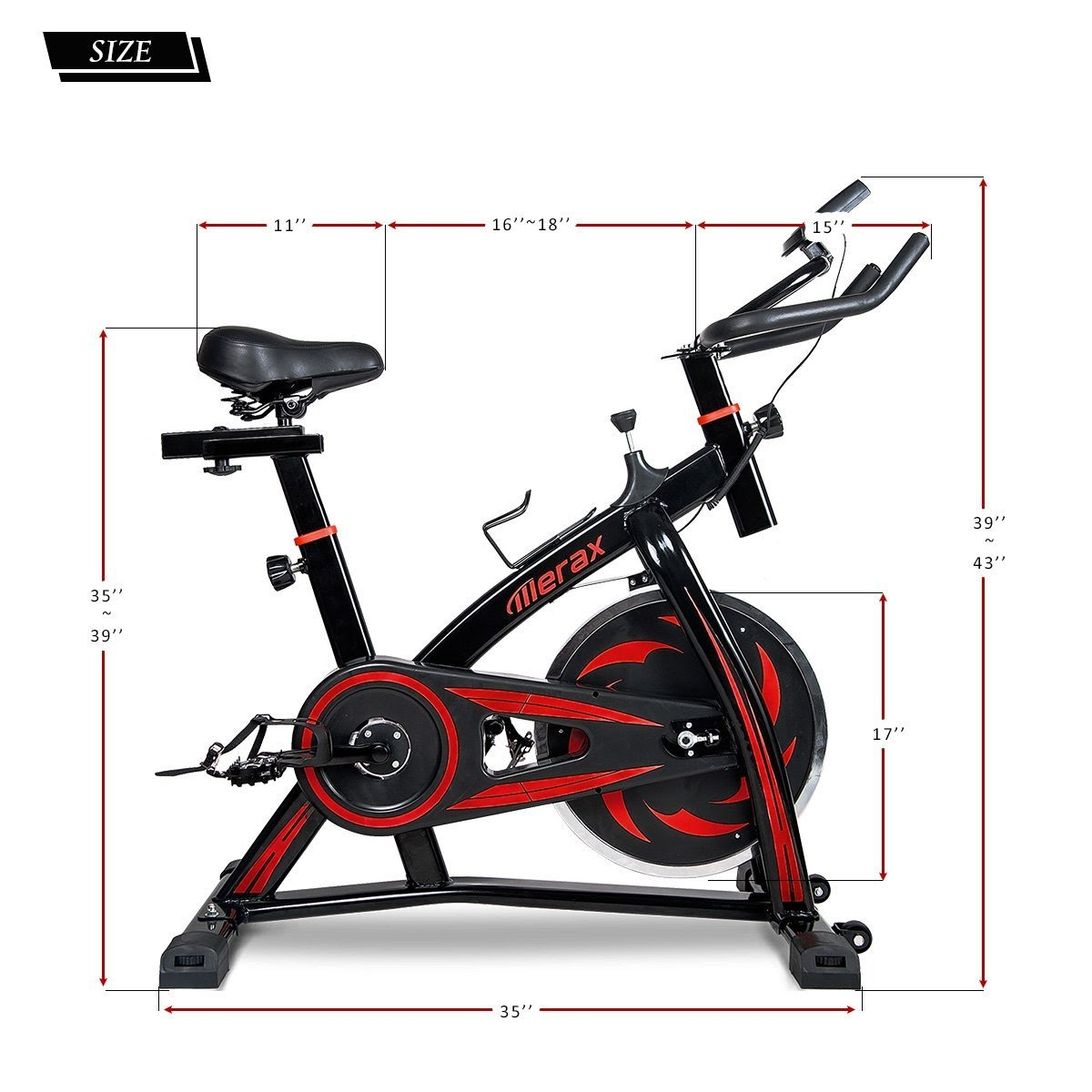 Exercise Bike Zone: Merax Pro Fitness Indoor Cycling